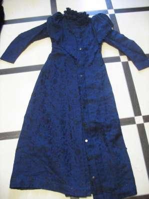Дореволюционная одежда. Женское платье. Кружева