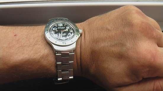 Часы мужские Восток Амфибия новые