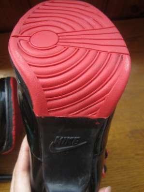Ботиночки Nike JORDAN Кожа натуральная под лак в г. Запорожье Фото 1