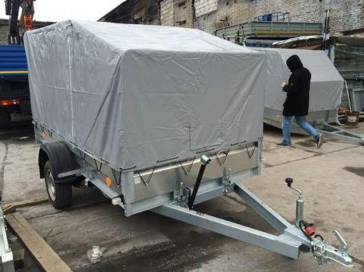 Легковой прицеп 3.5х1.4м Трейлер Тент АЭРО