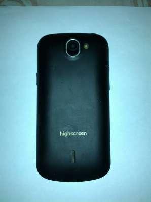 Смартфон Highscreen alpha Rage 4 Гб черный 4.5 в Москве Фото 1