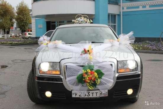 Украшения на свадебный автомобиль Барнаул Фото 2
