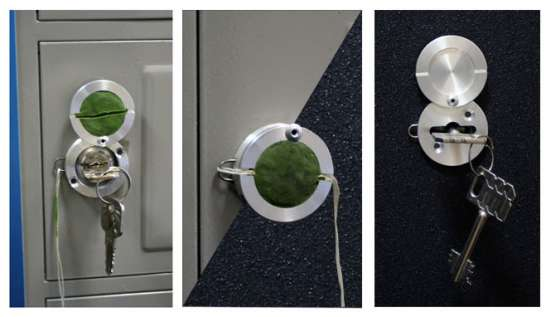 Сейфовое опломбировочное устройство Глазок