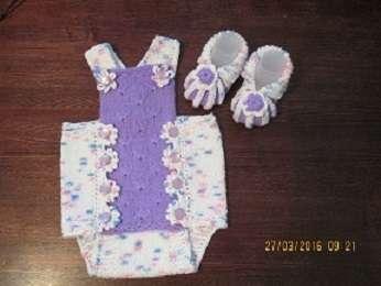 Боди + шапочка для новорожденного