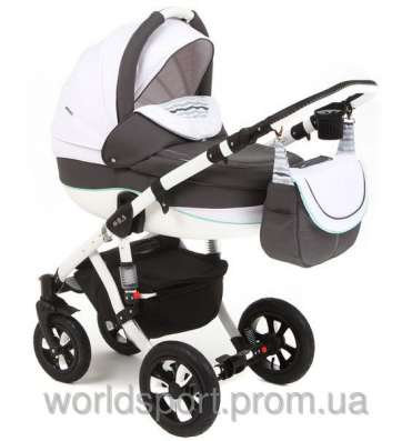 Детскую коляску купить Tako ACOUSTIC 04 светло-серый (лён)
