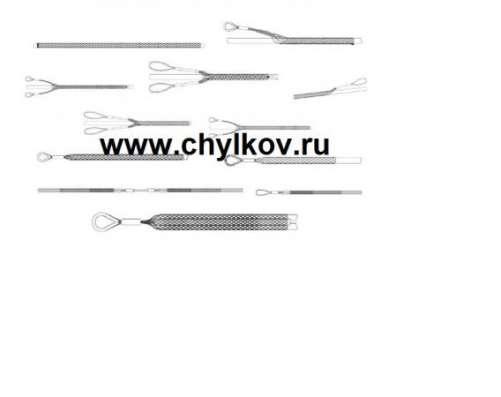 Кабельный чулок стандартный, ⌀150-180мм, L=900мм, 1 петля в Москве Фото 2