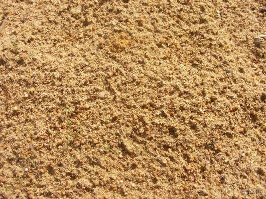 Песок мытый(крупный) с доставкой