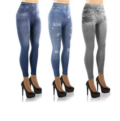 Стильные джинсы джеггенсы
