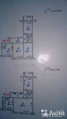 Продам 6-ти км кв-ру в двух уровнях – на 5/ 6 эт. 6-ти эт до