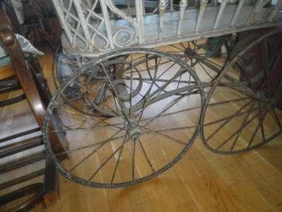 Старинная коляска в Москве Фото 1