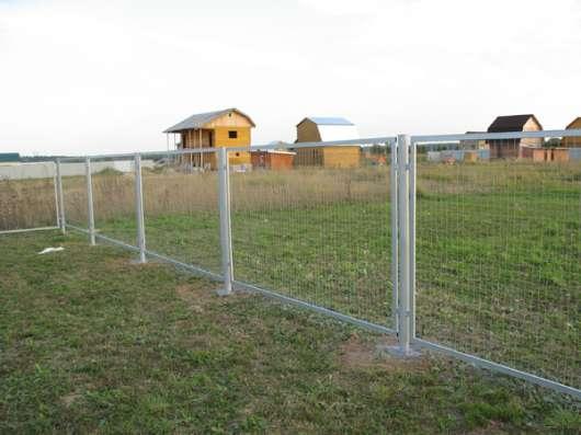 Секции заборные с сеткой или прутьями в г. Бузулук Фото 1