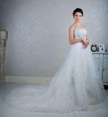 Свадебное платье со шлейфом в Москве Фото 2