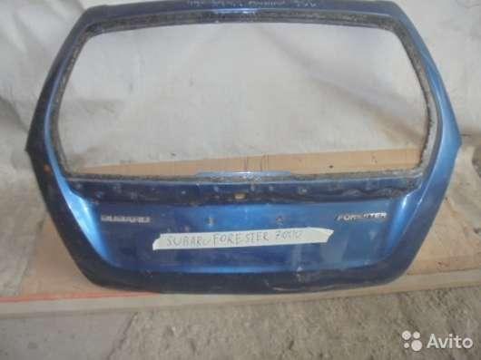 Крышка багажника, Subaru Forester