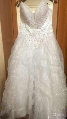 Свадебное платье с напылением