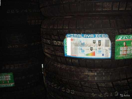 Новые липучки Federal 215 45 R17 Himalaya iceo