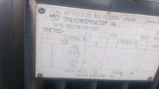 Трансформатор ТМГМШ-630/10-У1. в Ульяновске Фото 1