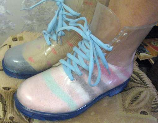Силиконовые ботинки от дождя в Москве Фото 3