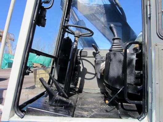 Перегружатель металлолома FUCHS MHL 331, ротатор, грейфер