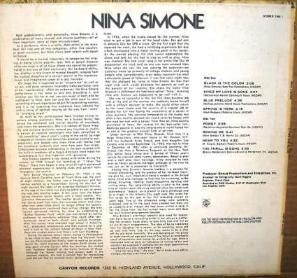 Nina Simone - Gifted & Black