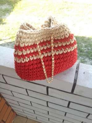 Сумка-рюкзак ручной работы