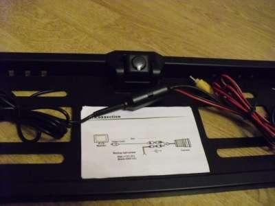 Рамка для номера с камерой заднего хода