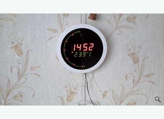 Часы настенные электронные