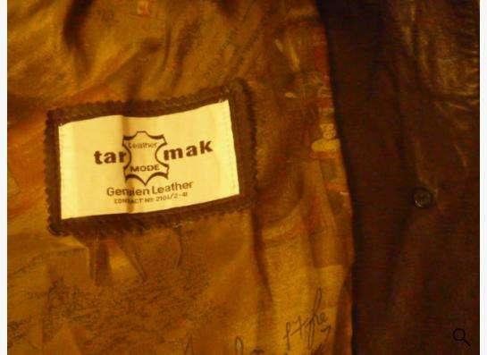 Куртка кожаная-52раз.новая из Турции.т.89137768497