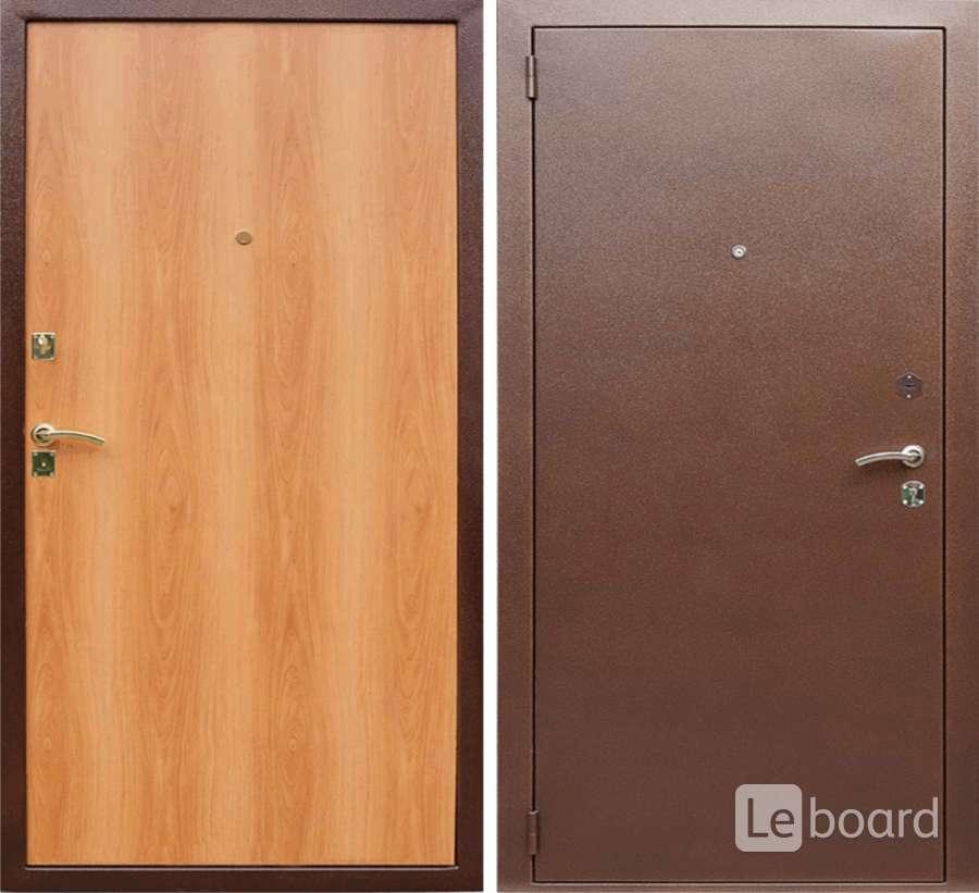 дверь металлическая с ламинацией